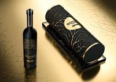 Belvedere vodka and truffles for Christmas... Designed by Chic London , produced by Wildcat Packaging France
