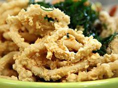 Rabas con limón | recetas | FOX Life calamares con limón ARIEL Y FELIPE RODRIGUEZ