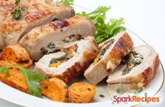 This dish looks fancy but cooks quickly! via @SparkPeople