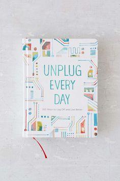 Love this idea of 365 ways to unplug. :: Unplug Everyday Journal