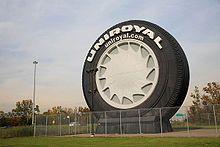 World's largest tire. Allen Park, MI.
