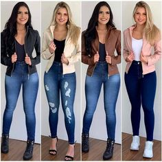 Sexy Outfits, Stylish Outfits, Cool Outfits, Simple Summer Outfits, Winter Outfits, Superenge Jeans, Skinny Jeans, Casual Chic Style, Western Wear