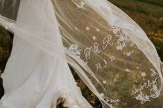Beautifully Embroidered Wedding Veil for Bride | By Heather Sham | Orange Wedding Decor | Wedding at Home | Garden Wedding | DIY Wedding | Embroidered Veil for Bride | Socially Distanced Wedding | Flower Crowns for Bridesmaids | Orange Colour Scheme for Wedding | Wedding Accessories | Wedding Veil | Bridal Veil | Personalised Veil