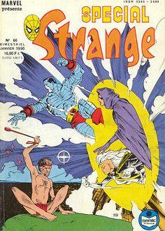 Couverture de Spécial Strange -66- Spécial Strange 1990