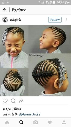 Little Girls Natural Hairstyles, Lil Girl Hairstyles, Kids Braided Hairstyles, African Braids Hairstyles, Children Hairstyles, Black Kids Hairstyles, Toddler Hairstyles, Holiday Hairstyles, Hairstyles 2018