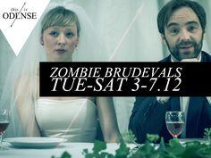 Zombie-teater på #Momentum. Anbefalet af både #Smagsdommerne og #Sommerglæde.dk - #Brudevals #odense #tirsdag til #lørdag. #zombie #theatre #wedding #waltz http://www.thisisodense.dk/7065/zombie-brudevals