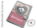 MUTTERPASSHÜLLE Etsy, Handmade, Baby Favors, Sewing For Kids, Craft Work, Sewing Patterns, Cast On Knitting, Hand Made, Craft