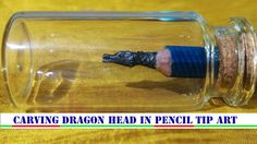 HOW TO CAARVE PENCIL LEAD