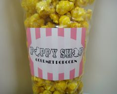 Gourmet Popcorn - Lemon Candy Coating