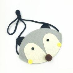 2016 New Kids Fabrics Cute Cartoon Purse Bag Little Girl Small Bag Children's Animal decorated Messenger Bag Gift for Kids