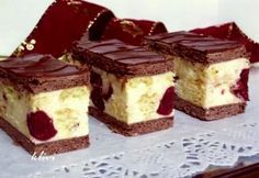 Archívy Zákusky - Page 18 of 78 - Receptik. My Recipes, Sweet Recipes, Cookie Recipes, Dessert Recipes, Hungarian Desserts, Hungarian Recipes, Delicious Desserts, Yummy Food, Tasty