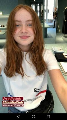 Plain Girl, My Girl, Tv Show Casting, Cast Stranger Things, Sadie Sink, Gal Pal, Old Actress, Millie Bobby Brown, Celebs