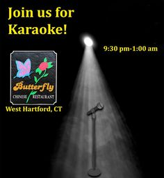 Join the fun at Butterfly Restaurant for an evening of Karaoke! #DineBest #karaoke #wine #food #dinner #Chinese #Chinesefood #yummy