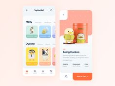 Mobile App for Toy Store// Concept designed by Serhii Polyvanyi for blacklead. Connect with them on Dribbble; the global community for designers and creative professionals. Ux Design, Homepage Design, Graphic Design, Design Trends, Design Ideas, Windows Xp, Mobile App Design, Mobile Ui, Microsoft Windows