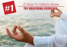 Nine ways to reduce stress... #1