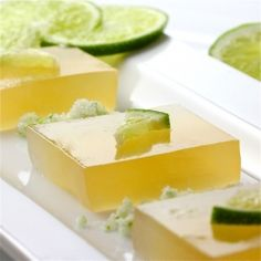 Margarita Lime Jell-O Shots