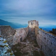 Château de Montségur #Ariège #Midi-Pyrénées
