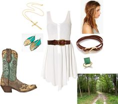 """""""Country Date"""" by tarabella84 on Polyvore"""