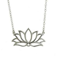 I like this design for a tattoo! Simple lotus flower, outlined