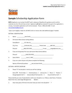 How to Write a Scholarship Application Cover Letter | Application ...
