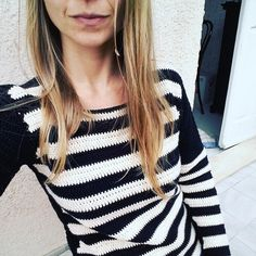 Ravelry: Striped Shirt by Yarn and Style