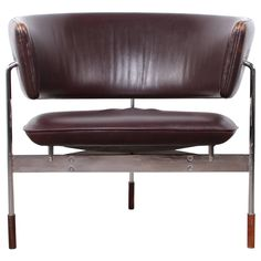 """Very Rare """"Sirkel"""" Lounge Chair by Sigurd Resell for Rastad"""