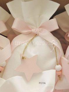 Sachet Bags, Baptism Favors, Girl Christening, Fabric Gifts, Little Star, Handmade Baby, Vintage Cards, Event Design, Valentine Gifts