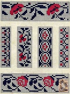 Chart Beaded Embroidery, Cross Stitch Embroidery, Embroidery Patterns, Cross Stitch Boards, Cross Stitch Bookmarks, Seed Bead Patterns, Loom Patterns, Cross Stitch Designs, Cross Stitch Patterns