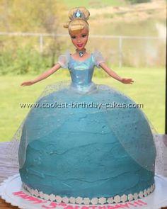 Coolest Cinderella Birthday Cakes