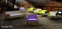 PASTEL chairs by Domingo