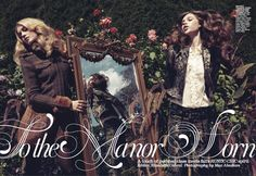 """Honourable mention Fashion & Beauty. """"To the Manor Worn"""" by Tanya Watt published in #Flare, 2010."""