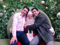 Happy Holidays everyone! Let's see YOUR photos with Santa :)