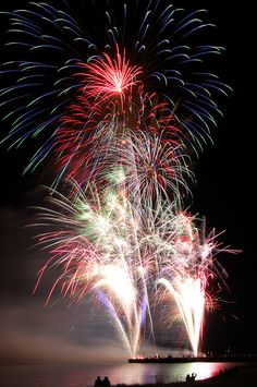 Munising Michigan fireworks! THE BEST