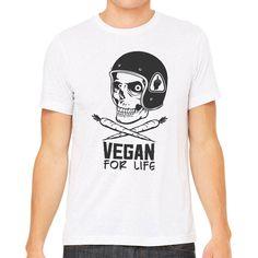 Vegan Clothing - Vegan Shirt - Vegan for Life