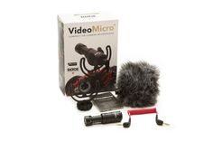 Rode VideoMicro Compact On-Camera Microphone VMICRO Videoguys Australia - Might be good for the EOS-M when on holidays etc...- $79aud