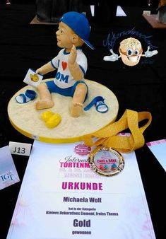 Cake and Bake Germany 2018 Essen - Golg - kleines dekoratives Element - Höhe 20 cm! Love Cake, Gingerbread Cookies, Competition, Wolf, Germany, Sugar, Artist, Character, Chocolates