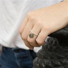 Silver Expandable Initial Ring | $38.50 + Free Shipping | jewelboxonline.com