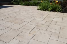 Walk up to your door in style with a Cambridge Walkway. Installation: Design & Build Landscape