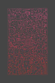 Dribbble - Dribbble_AdobeXD.png by Jakub Burkot