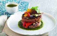 aprende cómo hacer Seitán y verduras a la parrilla en este post http://exquisitaitalia.com/seitan-y-verduras-a-la-parrilla/ #recetas #recetasitalianas