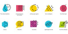 Designer Nate Tate created this set of Memphis-inspired icons for one of his client's projects: