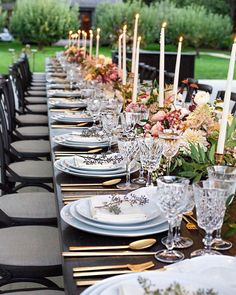 ✨✨ candles are the perfect romantic touch to any table decor! by by Jenny Gwyneth Paltrow, Wedding Table Setup, Fun Wine Glasses, My Perfect Wedding, Wedding Abroad, Wedding Decorations, Table Decorations, Celebrity Weddings, Event Design
