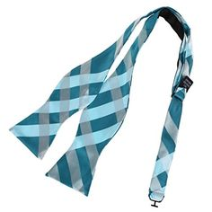 DBA7C10-12 Happy Gift Woven Microfiber Checkered Self-tied Bowtie By Dan Smith  Brand name: Dan Smith  Material: 100% Woven Microfiber  Size: 55cm*6.5cm  Package: With Free Gift Box  Set including: Bow Tie and Box