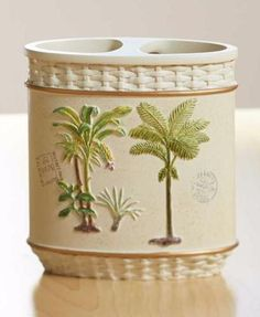 Better Homes And Gardens Palm Decorative Bath Collection