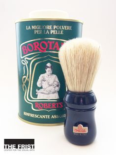 Is there a man in your life looking for a smoother shave? Try Omega's all-natural boar's hair professional shaving brush. Made in the Italian tradition, the brush offers the best shaving cream lather possible. Follow a clean shave with Robert's Borotalco Talcum Powder, Italy's best-selling talcum powder since 1800. The classic powder, made in the Florence, is a staple of every Italian's medicine cabinet. Pick up these items in the Frist Center's gift shop today!