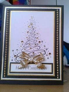 You could make these as your christmas cards with glitter glue rvore de natal solutioingenieria Images