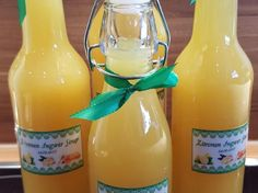 Ingwer-Zitronen-Honig-Sirup, gut gegen Erkältung oder zur Vorbeugung
