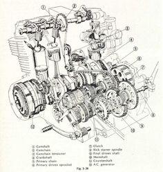 honda shine engine diagram honda wiring diagrams online