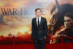 """David Kross Photos - Actor David Kross attends the """"War Horse"""" world premiere at Avery Fisher Hall at Lincoln Center for the Performing Arts on December 4, 2011 in New York City. - """"War Horse"""" World Premiere Lincoln Center, December 4, Horse World, Performing Arts, Home Photo, Fisher, New York City, David, Horses"""