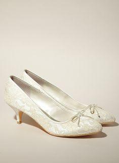 c80f5f5160f Cute Kitten Heels Wedding Shoes Wedding Shoes Heels